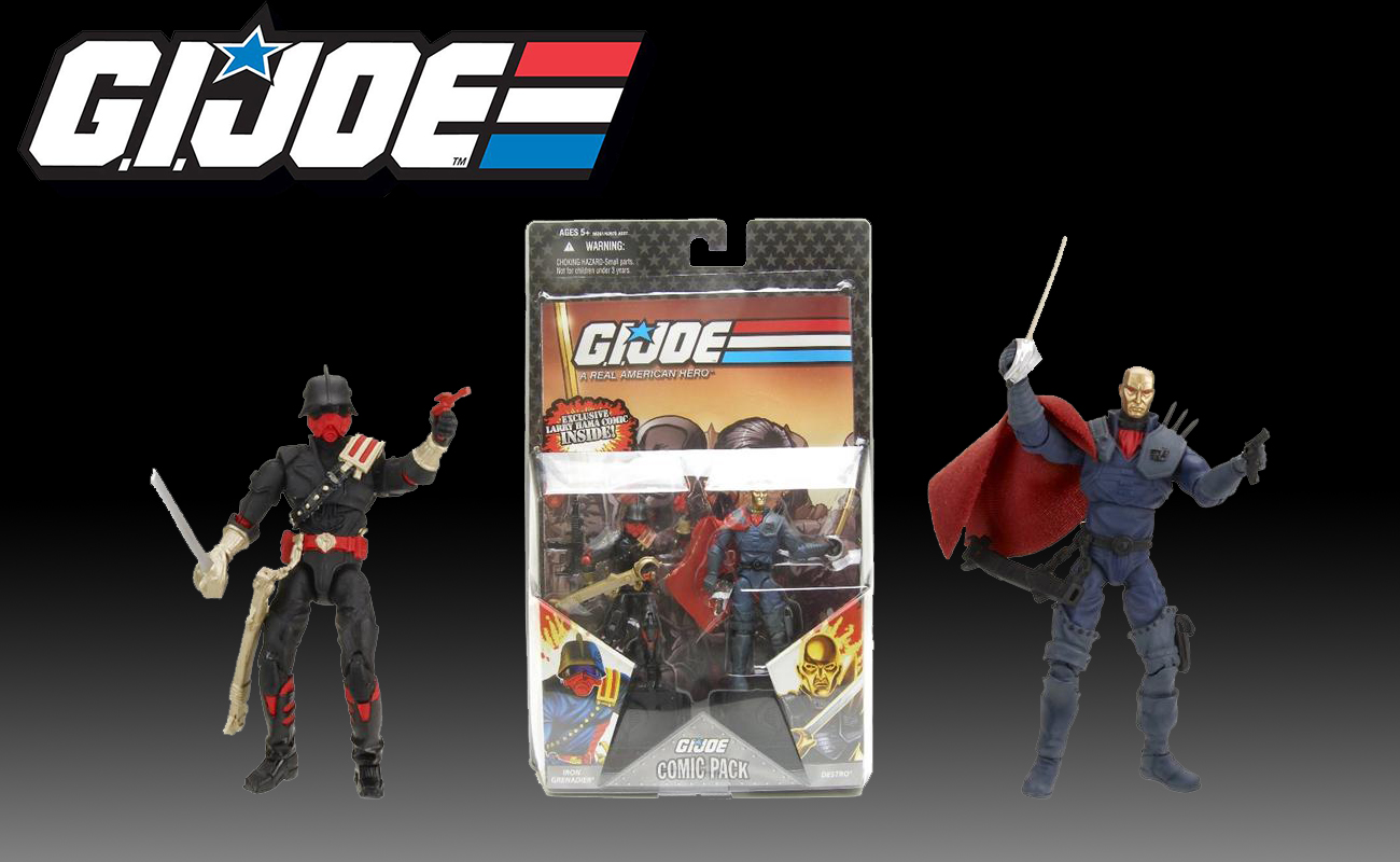 Iron Grenadier and Destro 2-Pack