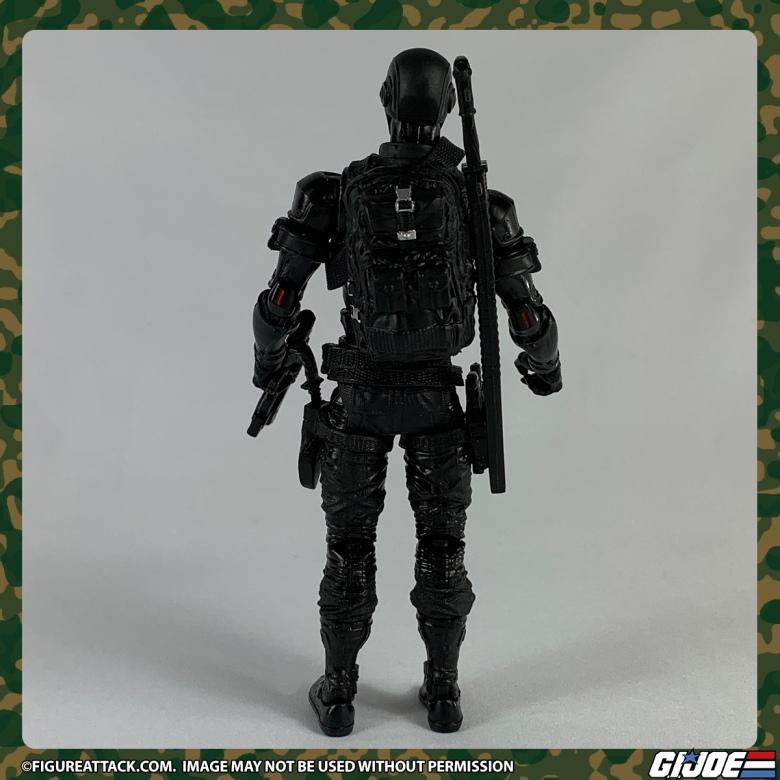 G.I. JOE Classified Snake Eyes Back