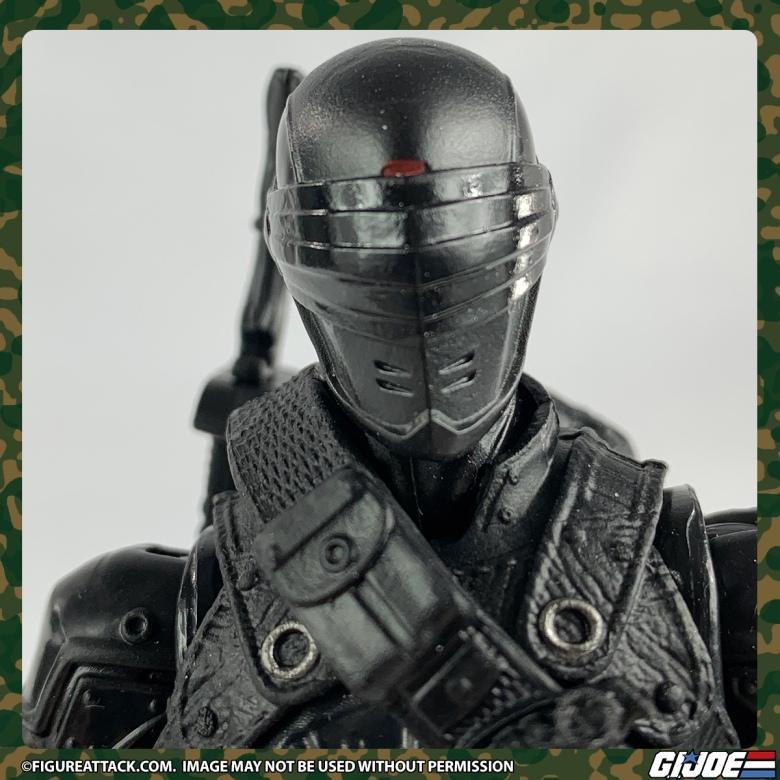 G.I. JOE Classified Snake Eyes Head