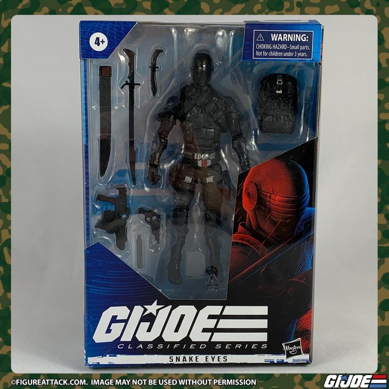 G.I. JOE Classified Snake Eyes Package Front
